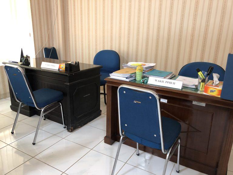 Ruang Kerja Wakil PPID